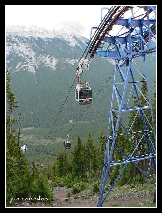 El pueblo de Banff en Canadá
