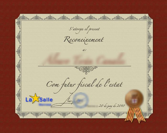 Diplomas escolares para editar - Imagui