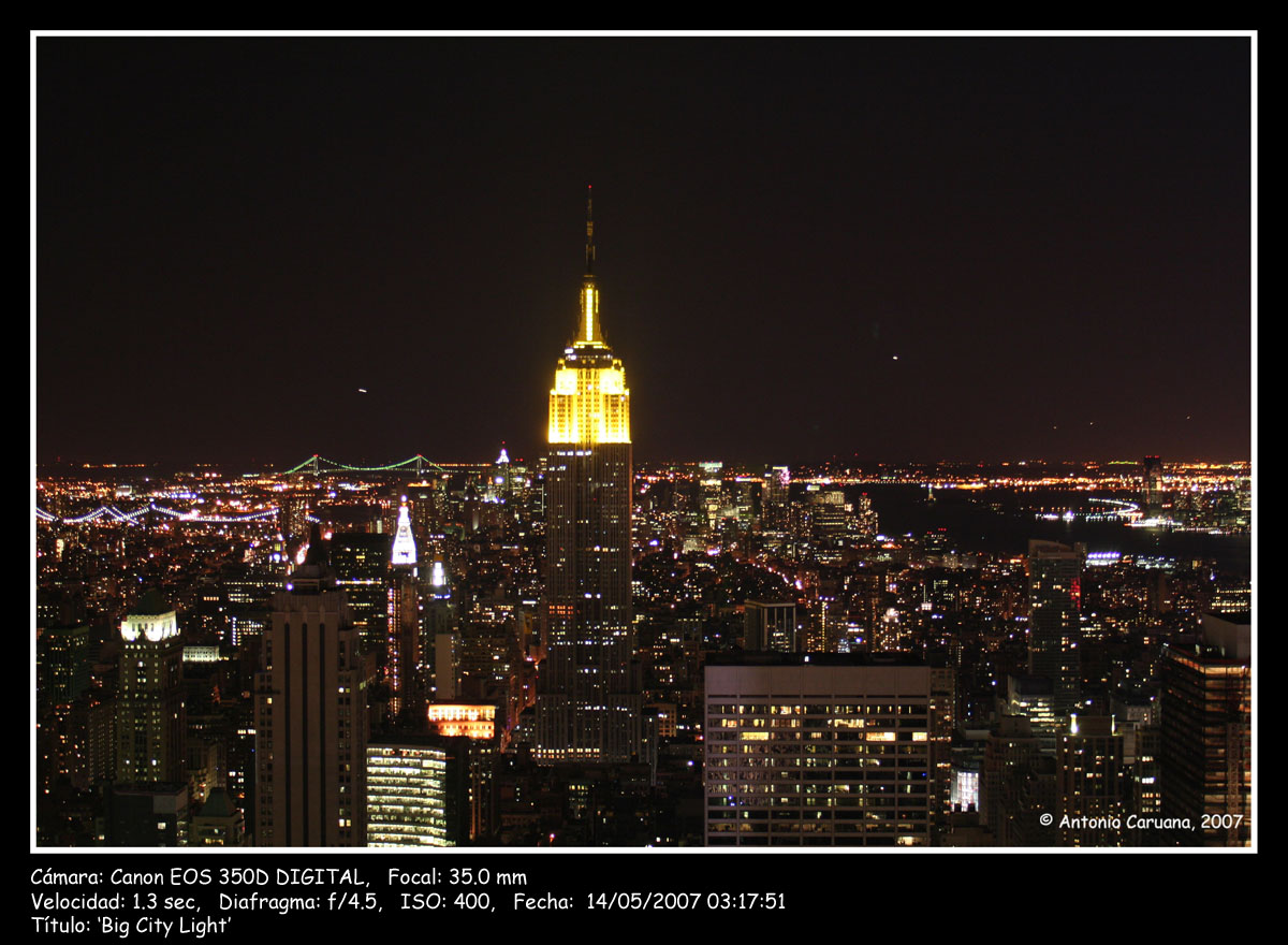 Imagenes de Ciudades de Noche